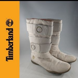 Timberland Wheat Thinsulate Snow Winter Boots 6 M